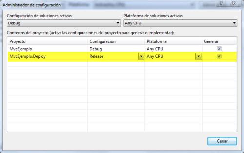 Configurando el proyecto