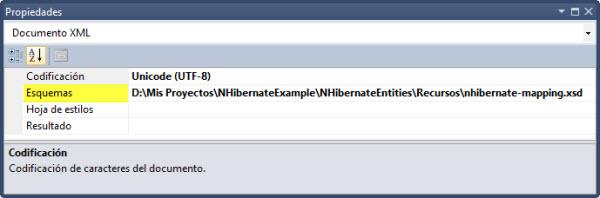 Asociando nuestro XML de mapeo al schema de NH.
