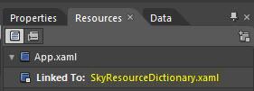 Archivos de recursos asociado a la aplicación