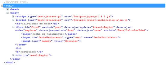 HTML sin scripts