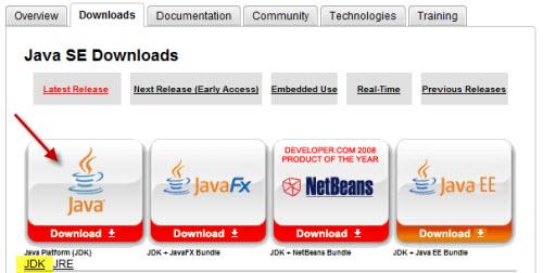 Descargando el SDK de Java
