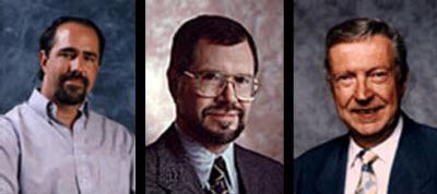 Los Tres amigos: Grady Booch, Jim Rumbaugh and Ivar Jacobson