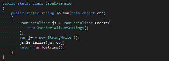 JsonExtension